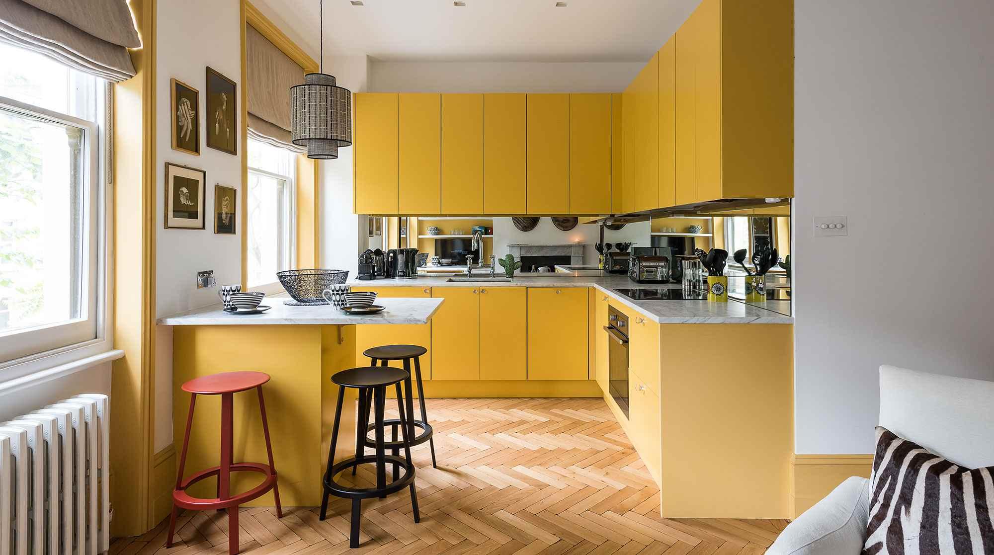 Sắc vàng trong bếp