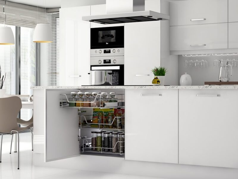 Thiết kế tủ bếp giá rẻ và tiện nghi