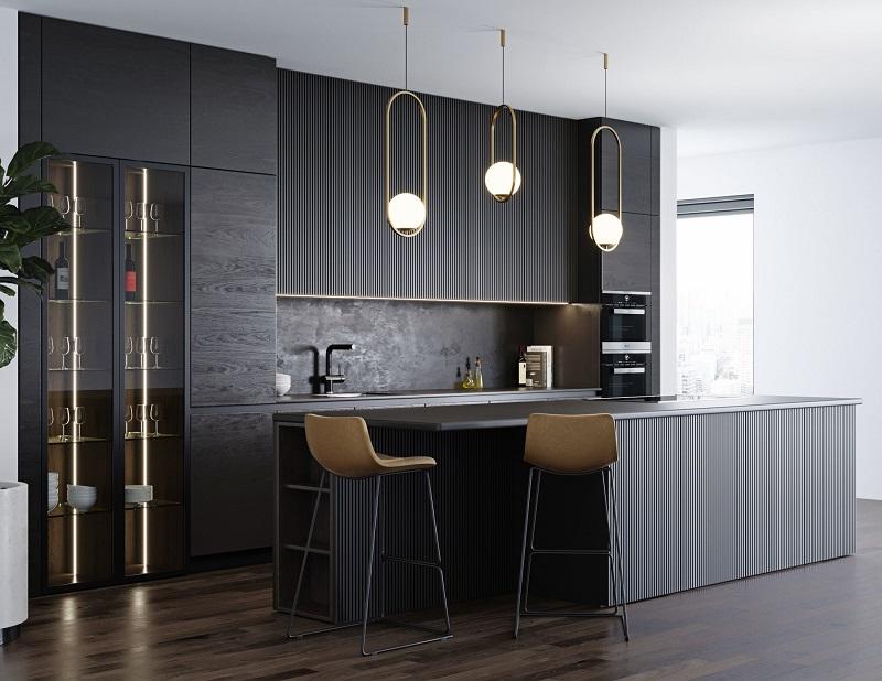 Giữ tủ bếp đẹp bền cần phải vệ sinh thường xuyên