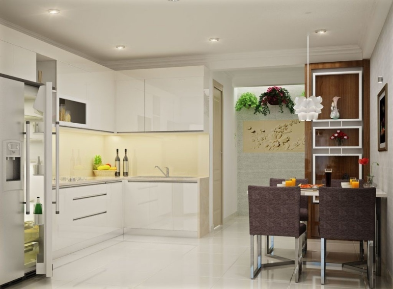 Bếp Acrylic đẹp