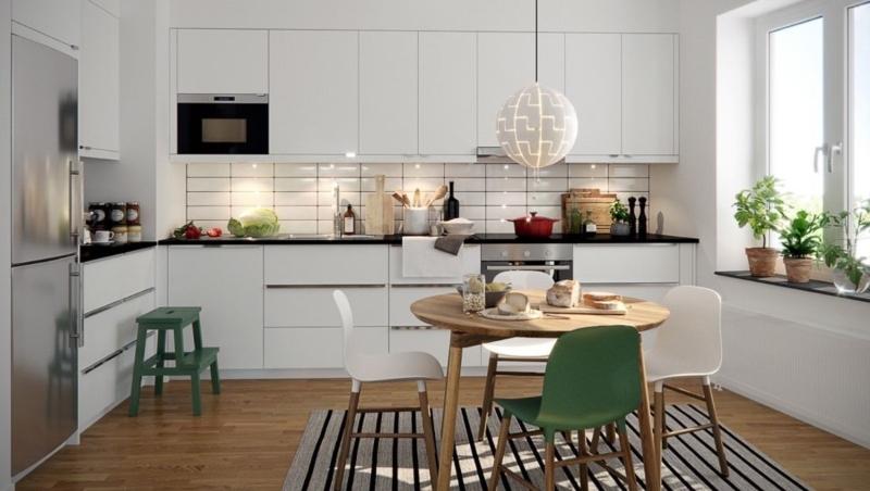 Tủ bếp đẹp giá rẻ melamine